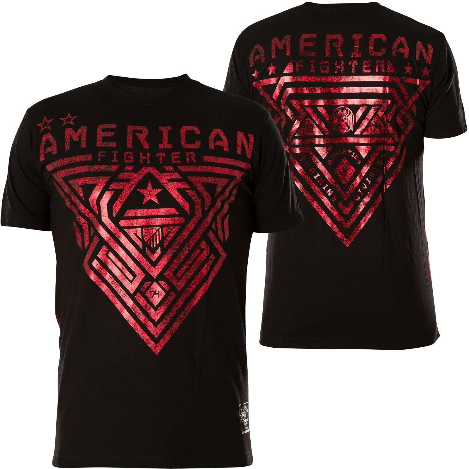AMERICAN FIGHTER Affliction T-Shirt Mayville II Schwarz T-Shirts   | Starke Hitze- und Hitzebeständigkeit  | Gewinnen Sie hoch geschätzt  | Hervorragende Eigenschaften