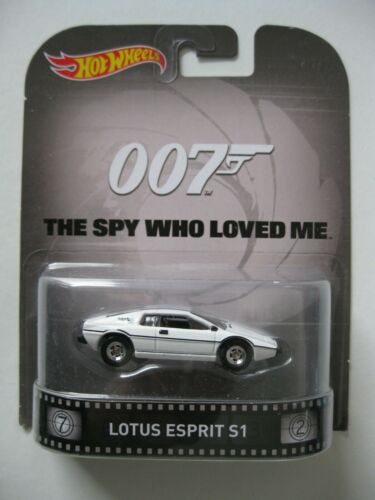Lotus Esprit S1 James Bond the spy who loved me* Hot Wheels Retro 1:64