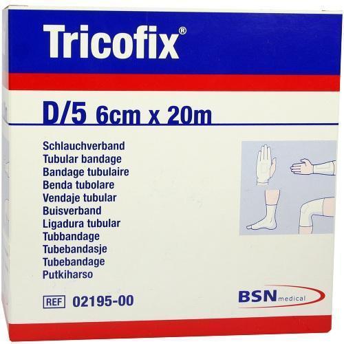 TRICOFIX Schl.-Verb. Gr.D 20mx6cm 2195 1St Verband PZN 1868976