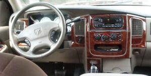 Image Is Loading Dodge Ram 1500 2500 3500 Interior Wood Dash