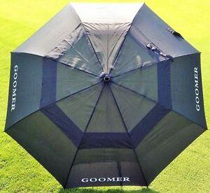 Regenschirm-Golfschirm-Partnerschirm-XXL-riesig-8-teilig-Doppeldach-Ventilation