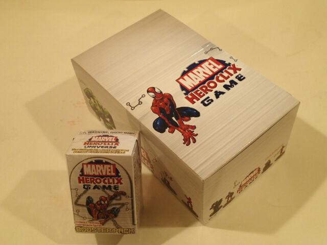 Marvel HeroClix Universe 8 pack Booster box  NEW! WizKids