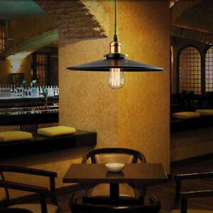Details zu Pendelleuchte Retro Industrie Design Hänge-Leuchte Decken-Lampe  Küche Esszimmer