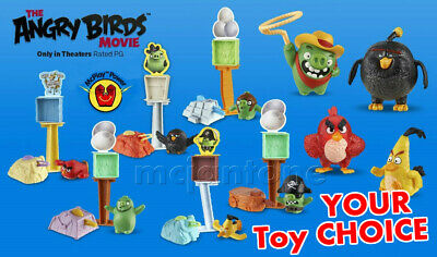 McDonald/'s 2016 Angry Birds Movie #3 Angry Birds Bomb Character Launcher Toy MIP
