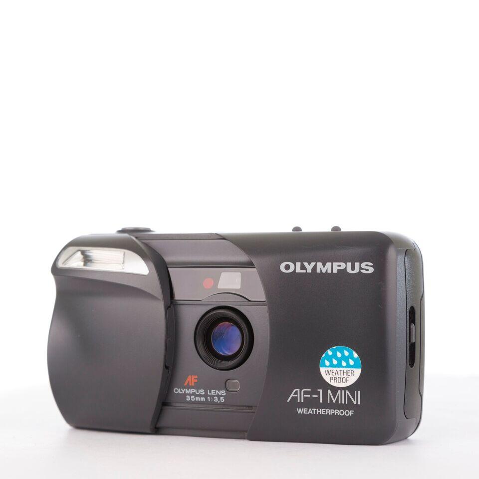 Olympus, Olympus AF-1 Mini (defekt blitz), Rimelig