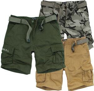Bermuda-Pantaloncini-Cargo-short-uomo-con-tasconi-multitasche-militari-Fun-Coolo