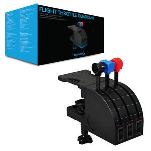 Logitech G Flight Throttle Quadrant NEW