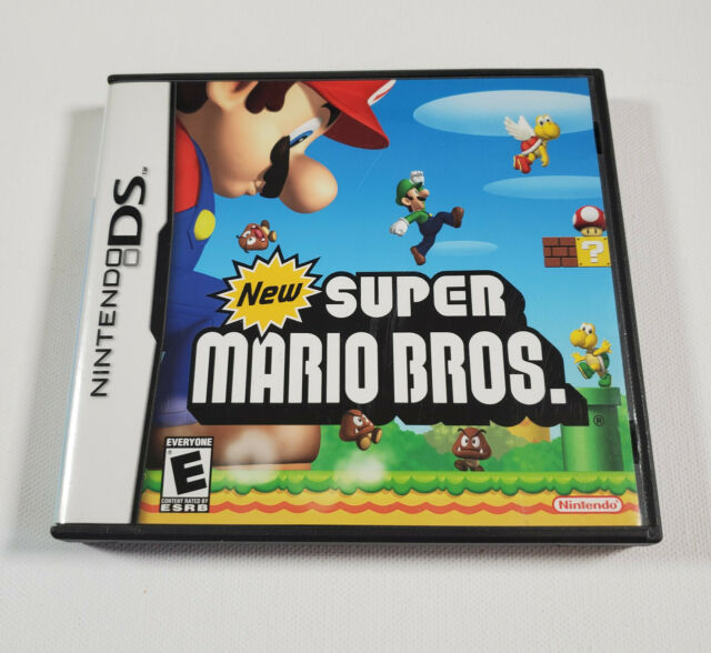 NEW SUPER MARIO BROTHERS BROS NINTENDO DS; NSMB; TESTED COMPLETE