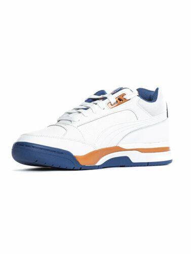 Puma Palace Guard Low Puma White//Jaffa Orange//Game Blue 370063 05