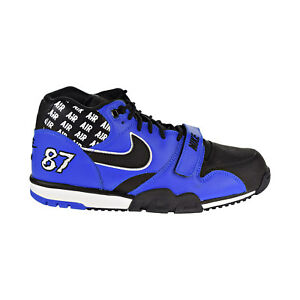 Hyper Men's Details Cobaltblackwhite Trainer 1 Aq5099 Soa About Shoes 400 Mid Air Nike Y7byvfg6