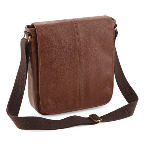 Ipad Tablet Travel Office Handbag QD876 Quadra Nuhide City Messenger Bag
