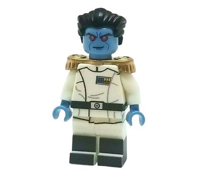 NURU KUNGURAMA **NEW** Custom Printed Star Wars Chiss Jedi Clone Minifigure