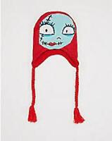 Tim Burton's The Nightmare Before Christmas sally Face Knit Laplander(great)