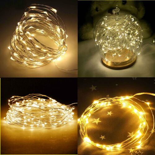 USB 8 Function 10M 100 LED Copper Wire String light In//Outdoor Decor Fairy Light