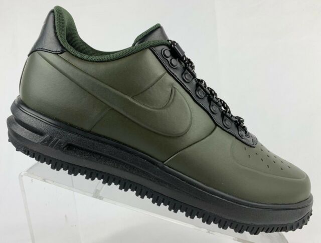 4dfa700c89fa Nike Lunar Air Force 1 LF1 Duckboot Low Sequoia-Black AA1125-300 Men s Size