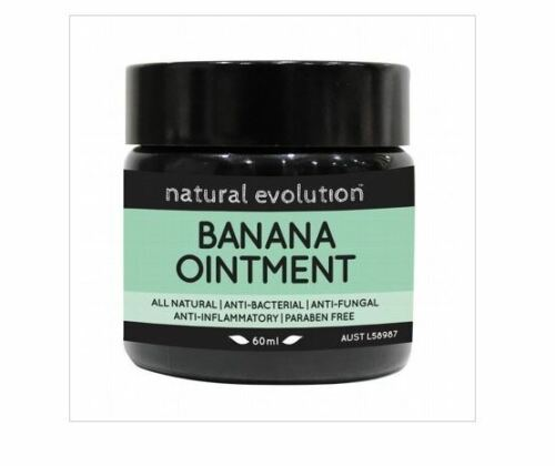 3 x 60ml NATURAL EVOLUTION All Natural Healing Banana Ointment