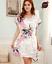 Womens-Plain-Faux-Silk-Satin-Kimono-Dressing-Gown-Bridal-Bridesmaid-Wedding-Robe