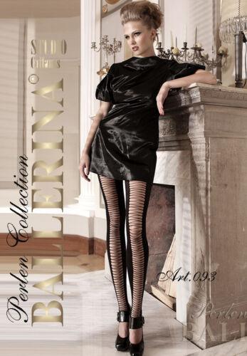 BALLERINA Luxury Super Fine 60 Denier Patterned Leggings with Lycra