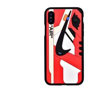 New Apple Iphone XR Off White Chicago Case Cover Nike Yeezy