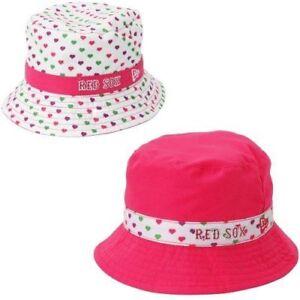 cb2e2ed253dbf1 Boston Red Sox New Era Toddler White Pink Bucket Toss Hat Ebay