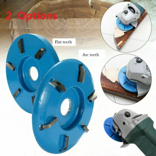 6Teeth Wood Carving Disc Tool Milling Cutter For Opening Aperture Angle Grinder