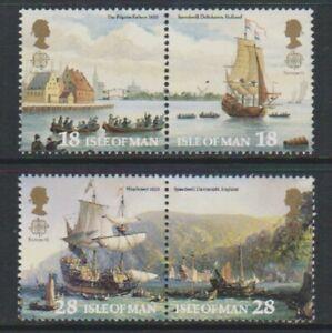 Isle-of-Man-1992-Europa-Discovery-of-America-set-MNH-SG-518-21
