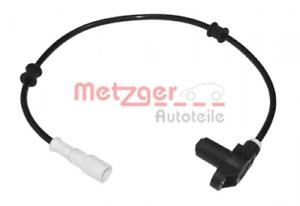 Sensor Raddrehzahl für Bremsanlage Vorderachse METZGER 0900047