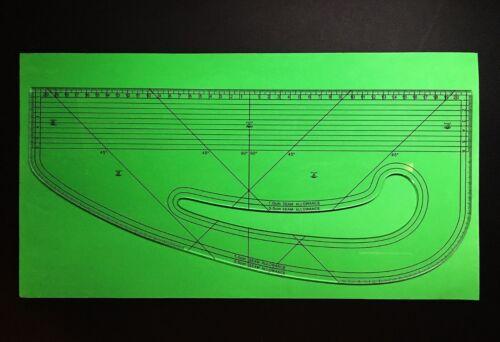 Fashion Master Pattern Maker Acrylic /& Seam Ripper- Design-Surgery® Metric