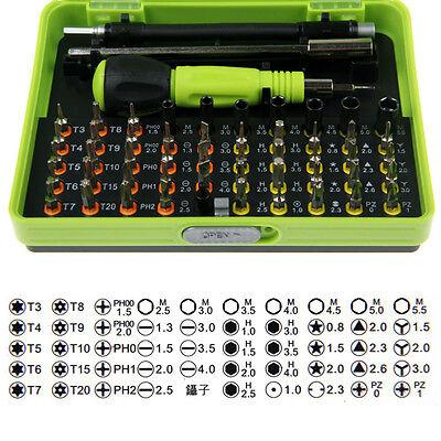 53 in 1 Multi-Bit Precision Torx Screwdriver Tweezer Cell Phone Repair Tool Set