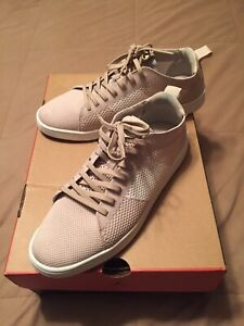 aldo men's casual shoes burlap size 8 brown tan sneakers