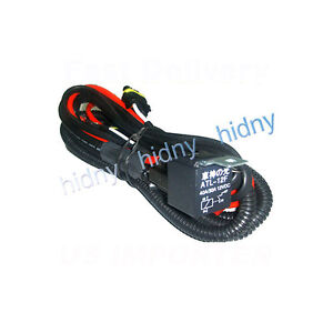 image is loading hid-relay-harness-wiring-h4-h7-h10-h11-