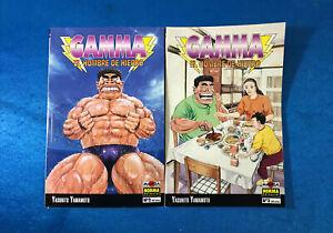 PACK COMICS MANGA TOMOS 2 Y 3 YASUHITO YAMAMOTO - GAMMA EDITORIAL NORMA