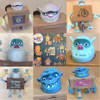 McDonalds Happy Meal Toy 2014 BOXTROLLS Box Troll Character - VARIOUS