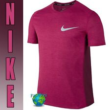 NIKE MENS BREATHE RUNNING SHIRT SIZE Large L AA4872-607 Purple