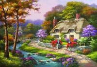 Anatolian Jigsaw Puzzle Spring Cottage Sung Kim 500 Pcs 3577
