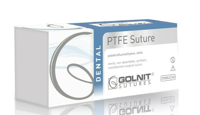 Dental PTFE Nahtmaterial 4/0 16 Reverse schneiden, FDA, steril, 12pcs/box