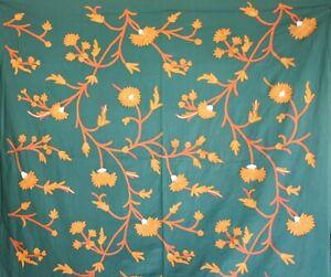 Set-3-meter-Kashmir-Wool-embroidery-Crewel-Handmade-Curtains-Fabric-Upholstery