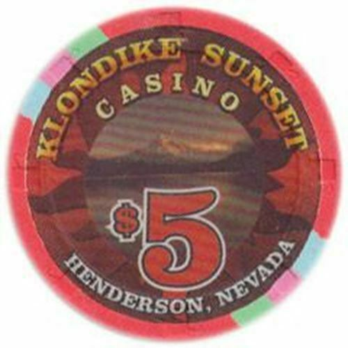 Klondike Sunset Casino Henderson NV $5 Chip 1999