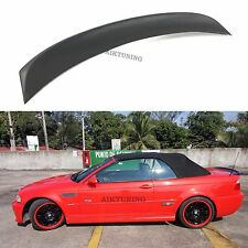 BMW E46 CSL Style Performance Rear Boot Trunk Spoiler Ducktail Wing Cabriolet