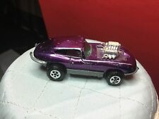 VINTAGE JOHNNY LIGHTNING JUMPIN JAG DEEP PURPLE ALL ORIGINAL