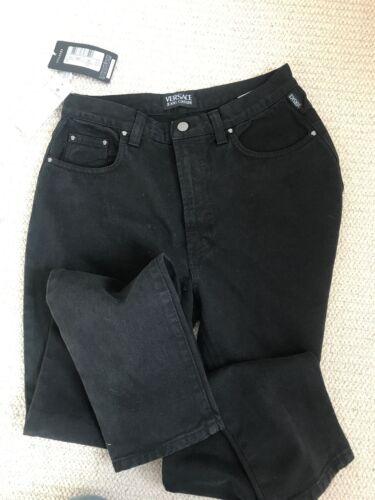 Cotton Black Jeans Versace 33 Størrelse aqXOxzx5