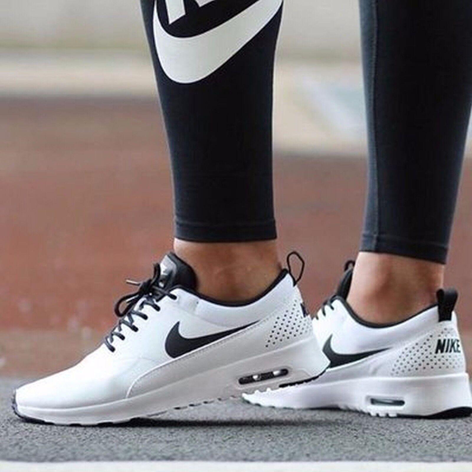 Nike Air Max Thea Womens Sz 11.5 White/Black 599409-102