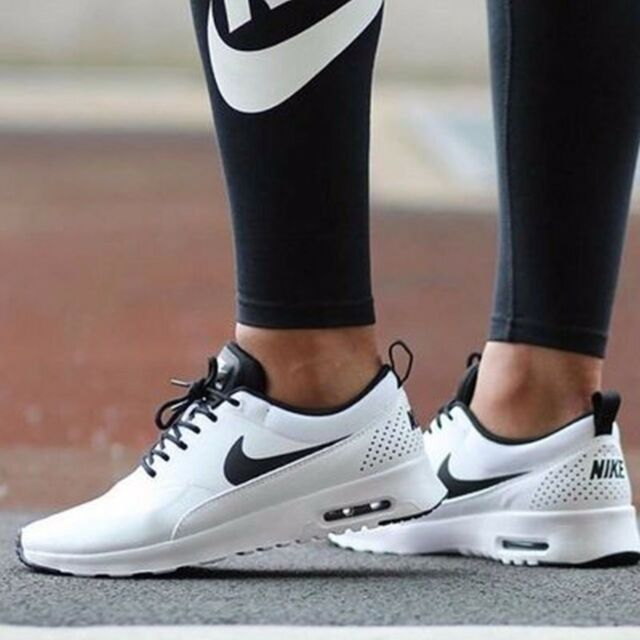 nike womens air max thea black and gold