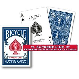 Cards Karten Cartas Poker Bicycle Bleu Magie Jeu de cartes Standard