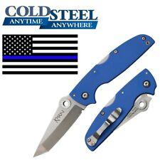 Cold Steel 54t Khan Blue Folding Knife Pocket Folder