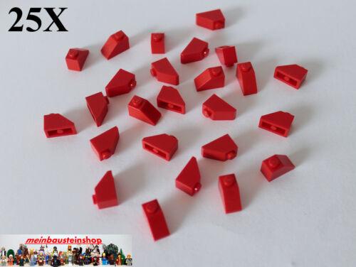 25X Lego® 3040 Dachsteine Roof Slope 1X2 45° Rot Red NEU