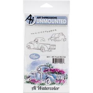 Art Impressions Aquarelle S'accrochent Tampons En Caoutchouc-camion Mini Set-afficher Le Titre D'origine Kh5fkn6v-10111134-801554834