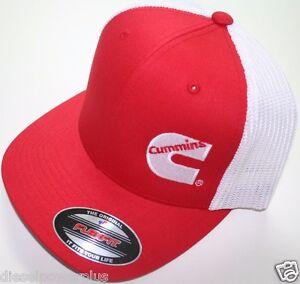 806cfba6 Dodge Cummins truckers mesh summer cummings hat ball cap fitted flex ...