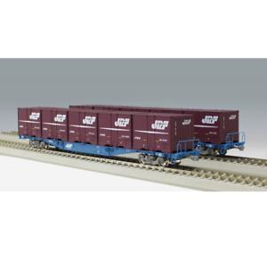 Kato 3-512 KOKI 104 19D Freight Cars + Containers 2 Cars Set - HO