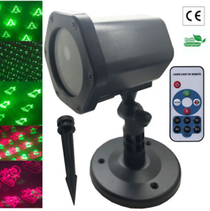 SALE-Outdoor-Christmas-Laser-projector-Lights-Landscape-Yard-Party